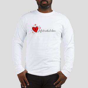 """I Love You"" [Amharic] Long Sleeve T-Shirt"